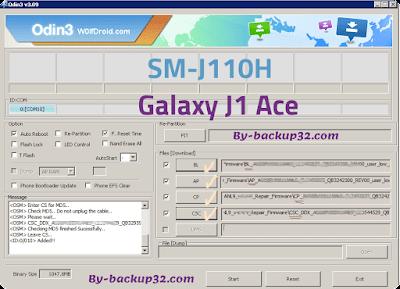 سوفت وير هاتف Galaxy J1 Ace موديل SM-J110H روم الاصلاح 4 ملفات تحميل مباشر