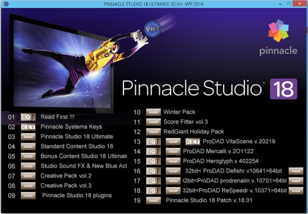 pinnacle studio 9 free download full version with crack