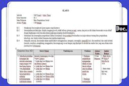 Silabus [IPS] Kelas [IX/9] SMP/MTs Semester 1 dan 2 K13 Revisi Terbaru