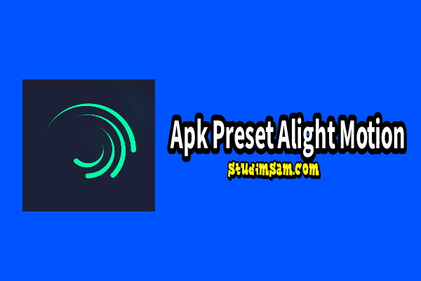 apk preset alight motion