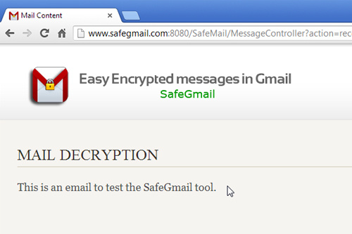 How to send encrypted email through Gmail on Chrome ~ Gmail