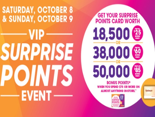 Shoppers Drug Mart VIP Surprise Points Event