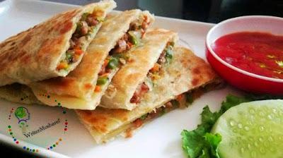 চিকেন পরোটা রেসিপি || Chicken served recipe,