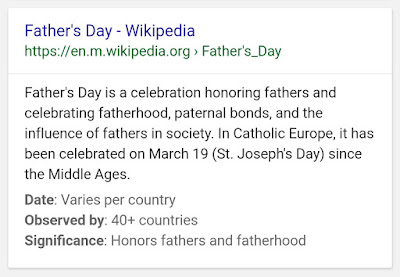 Father's Day definition