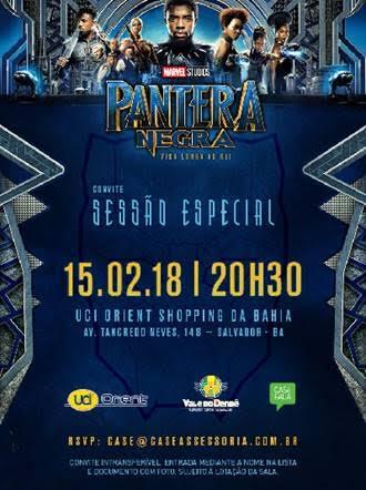 """02711b7ef9 A rede UCI ORIENT exibirá uma sessão exclusiva para convidados do filme  """"Pantera Negra"""""""