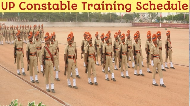 UP Constable Training Schedule- Latest | Police Constable Indoor, Outdoor  Training