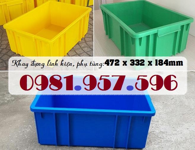 Hộp nhựa đựng phụ tùng, hộp nhựa cơ khí, khay linh kiện