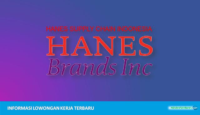 Lowongan Kerja PT. Hanes Supply Chain Indonesia, Jobs: Garment Merchandiser, Accounting Staff, Export Import Staff, Purchase Staff,