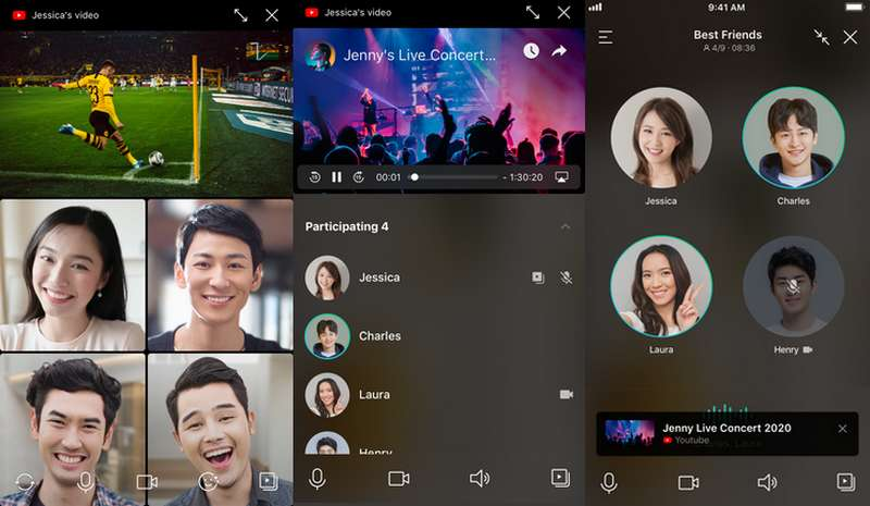 Cara Nonton Bareng YouTube di Video Call Line (line.me)