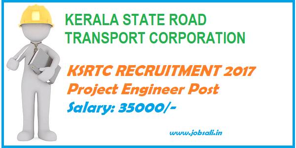 KSRTC, Engineering jobs, Kerala Govt jobs,