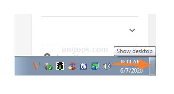 cara minimaze semua program di windows 7