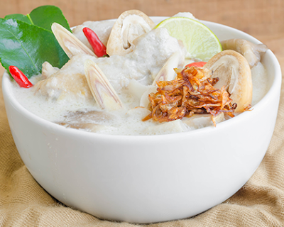 Thai coconut milk based soup