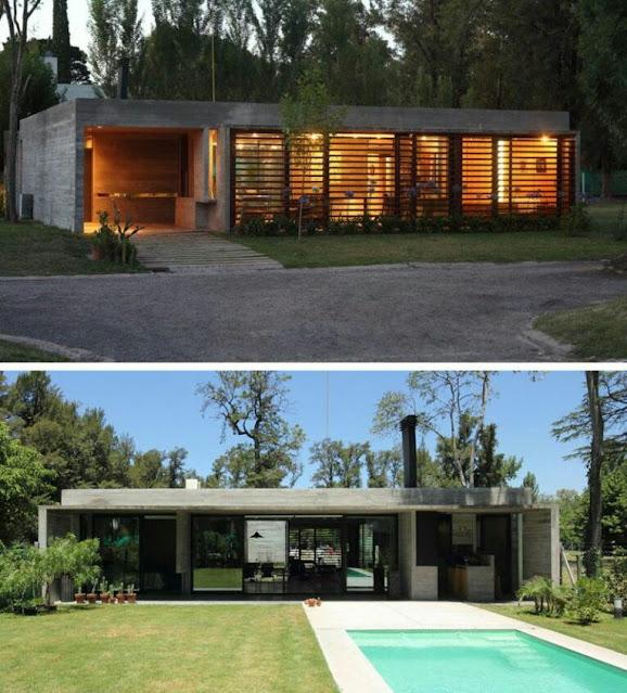 Modern Single Story Homes