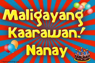 Maligayang Kaarawan Nanay
