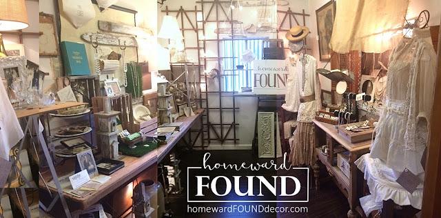 homewardFOUND shop vintage salvaged handmade home decor