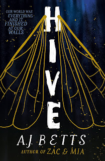 Hive by A.J. Betts cover