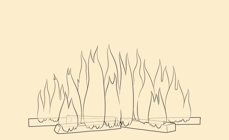 Gambar api latar belakang api