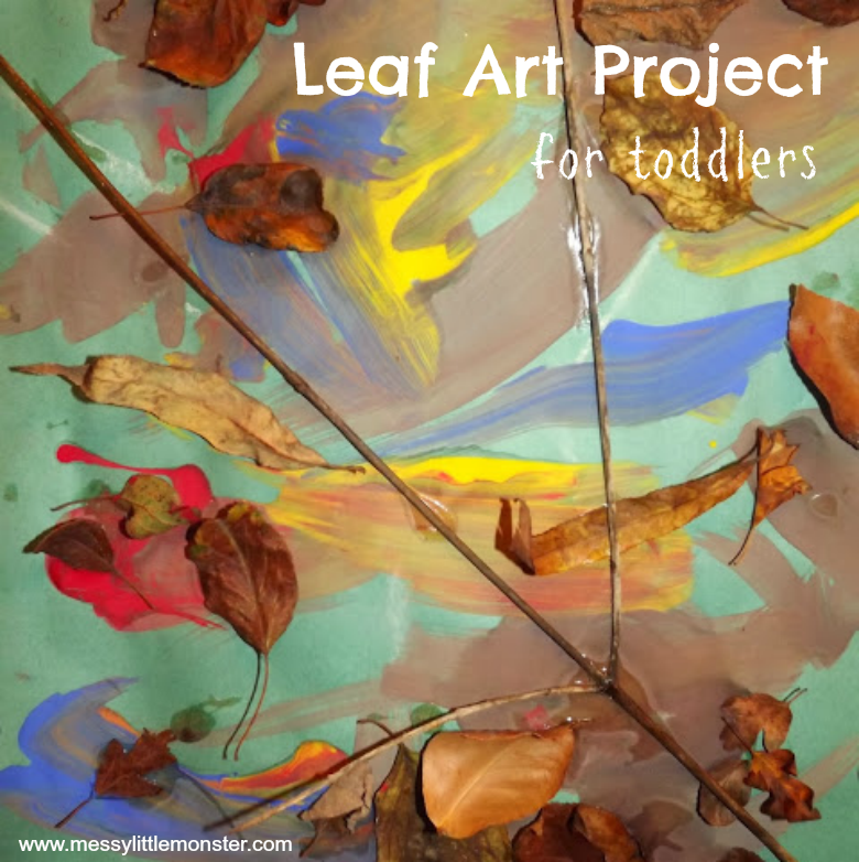 Leaf Art Project - Autumn Leaf Craft for Toddlers