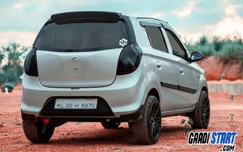 Maruti Suzuki Alto alloys modification