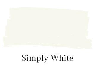 Benjamin Moore Simply White
