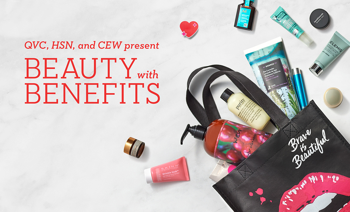Beauty with Benefits 2019 Free Gift Bag with Purchase - HSN & QVC