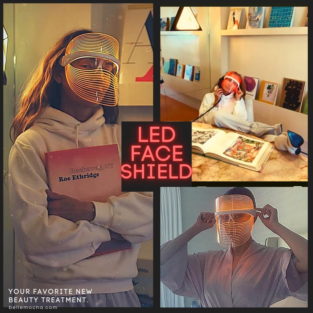 LED Face Shield Mask