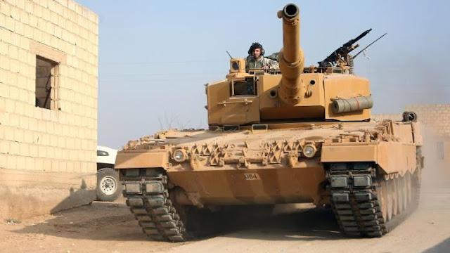 Μάχες του συριακού στρατού με τουρκικές δυνάμεις