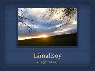 Header des Blogs limalisoy: Eigenname unter Sonnenaufgang