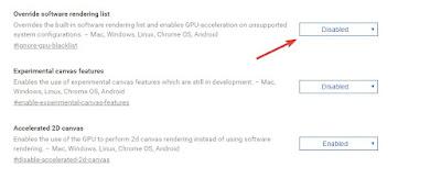 Accellerazione 3D Chrome