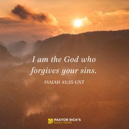 God Says You Are Forgiven by Rick Warren