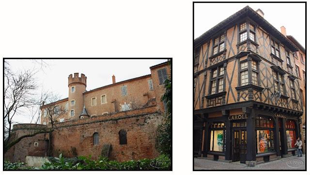 Maison Enjalbert y casa de Toulouse-Lautrec de Albi