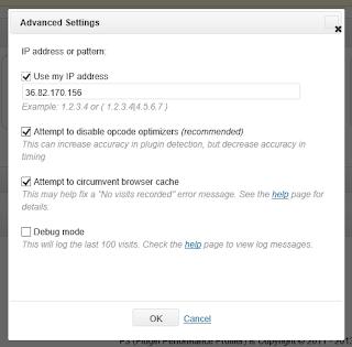 PluginProfiler2 - Advanced Settings