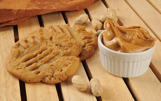 Μπισκότα φυστικοβούτυρου μόνο με 3 υλικά
