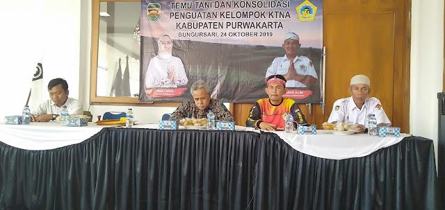 Roadshow KTNA Purwakarta final. Aspirasi petani di 17 kecamatan direkap untuk ditindak-lanjuti