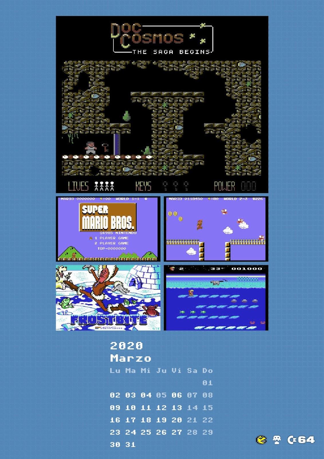 Retroinvaders/Commodore manía: Videojuegos de 2019