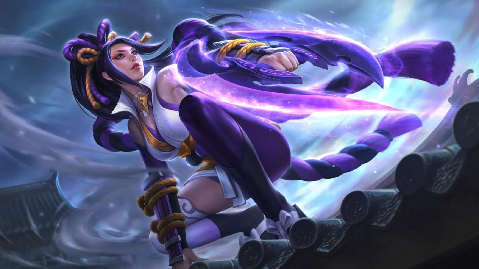 Wallpaper Hanabi Resplendent Iris Skin Mobile Legends HD for PC