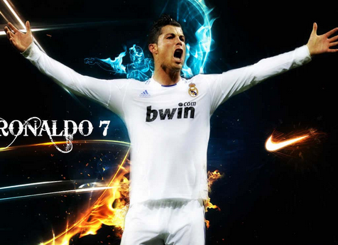 2015 Cool Wallpapers HD Cristiano Ronaldo CR-7 At Goal | Wallpaper Dan Design Tatto