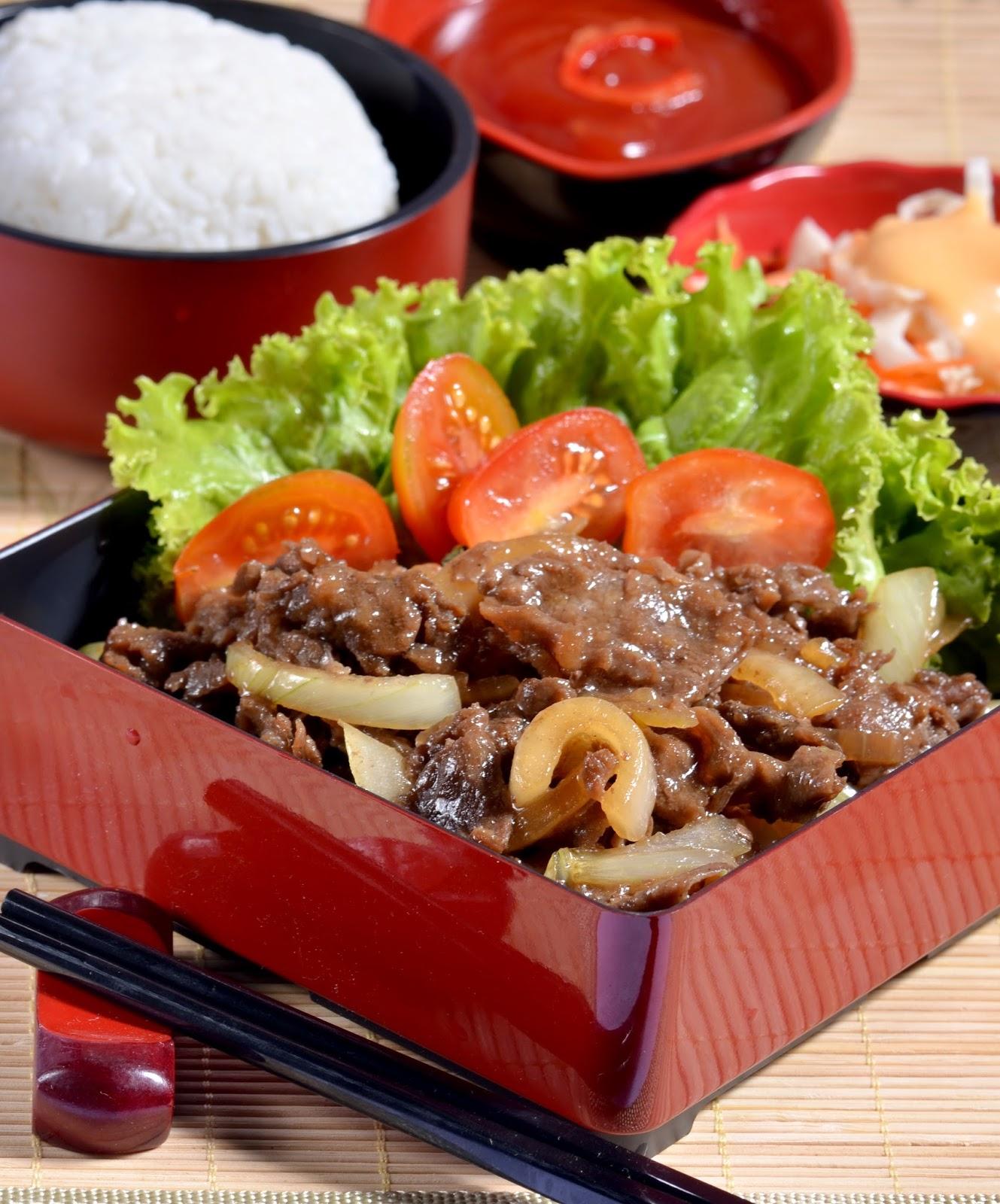 Kuniler Indonesia Beef Teriyaki Ala Hoka Hoka Bento Restoran