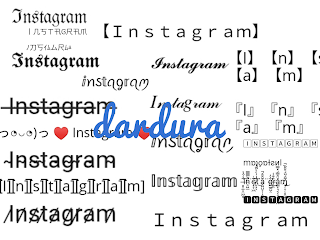 Instgram Fonts Generator Copy dan Paste