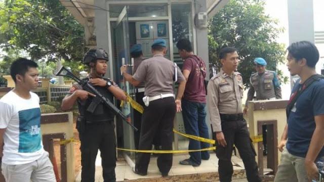 ATM BRI di Mapolres Lebak Dirusak, Pelakunya Diduga Anggota Polisi
