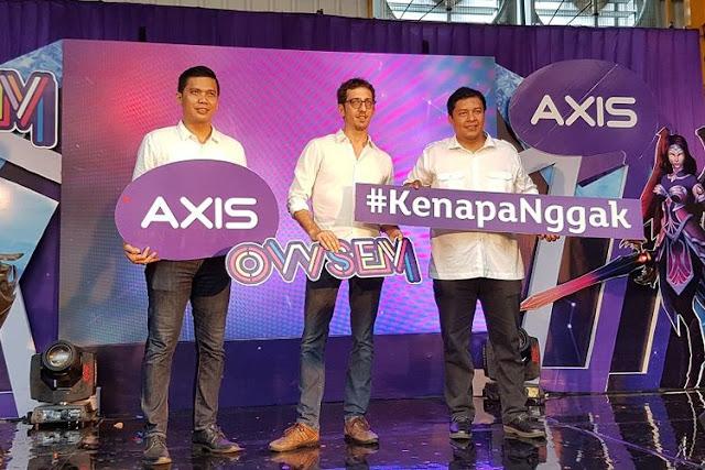 ARTICLE | XL Luncurkan Axis Owsem, Paket Khusus untuk Gaming