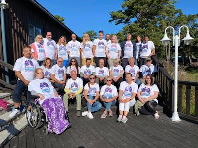 Bild på deltagare på Fårölägret 2021