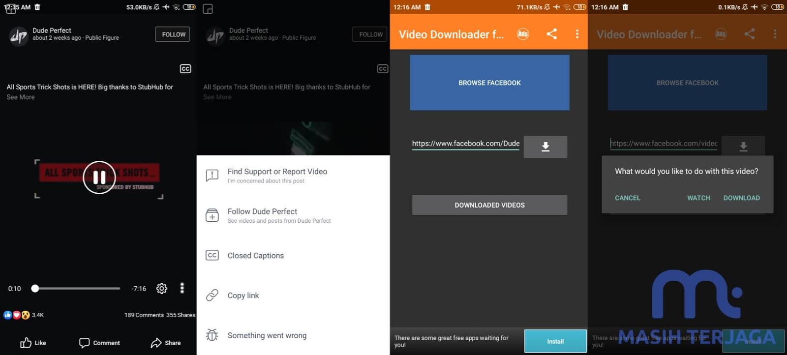 Aplikasi Untuk Download Video Facebook Lite Dan Youtube Kualitas HD Iphone Dan Android Apk