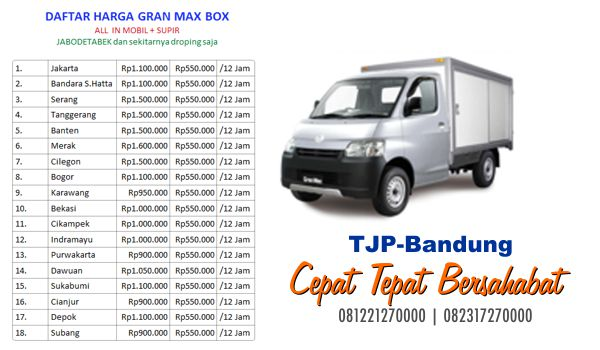 Jasa sewa mobil box Bandung