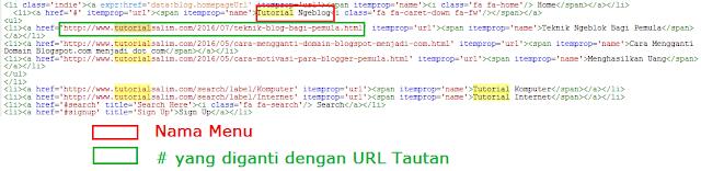 menu blog