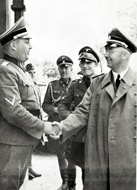 Rudolf Höss y Heinrich Himmler