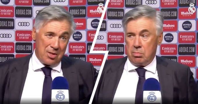 Ancelotti: Real Madrid has serious offensive quality but lack defensive organization