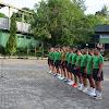 Seluruh Anggota,Pns dan Balakrem 141/Tp, Senam Bersama