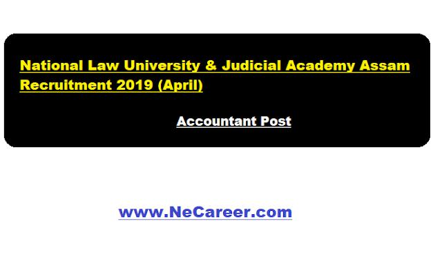 nluassam jobs april 2019 assam