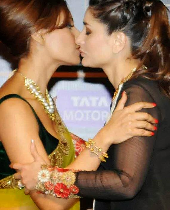 Grateful for Actresses kissing each other consider